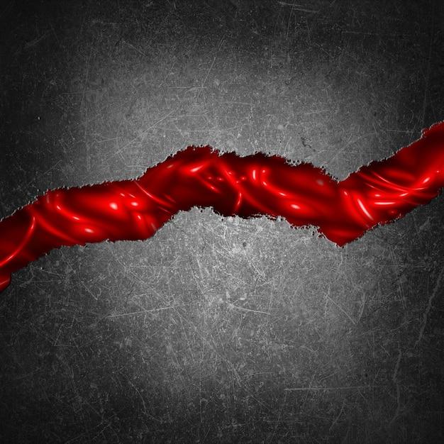 Grunge Krakingu Betonu Z Gory Czerwonym Tle Pod Spodem Darmowe Zdjęcia