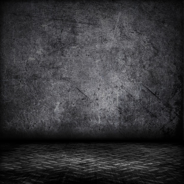 Grunge styl wnętrza z blachy podłogi Darmowe Zdjęcia