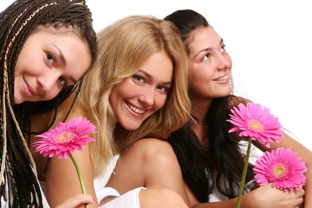 Grupa pięknych młodych kobiet Darmowe Zdjęcia