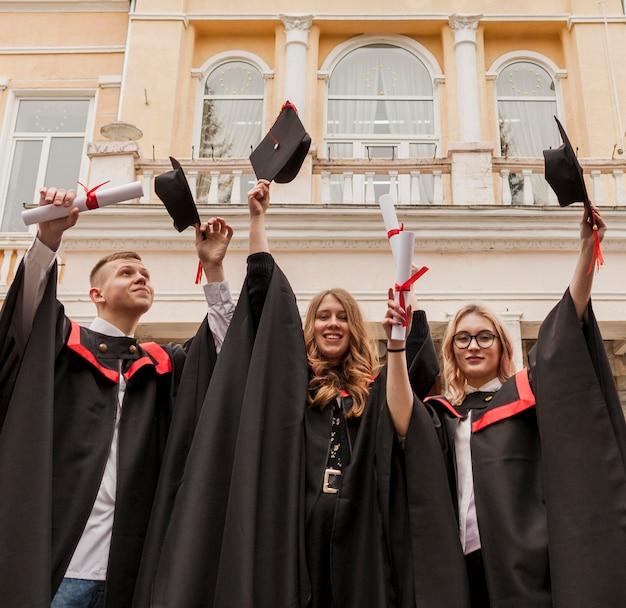 Grupa Studentów Posiadających Dyplom Darmowe Zdjęcia