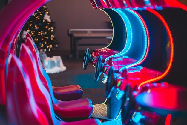 Gry Zręcznościowe Z Neonów Darmowe Zdjęcia