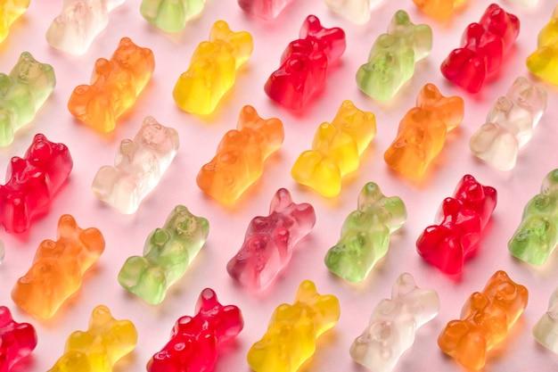 Gummy Niedźwiedzie Wzór Premium Zdjęcia
