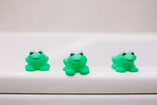 Gumowe żaby do kąpieli Darmowe Zdjęcia