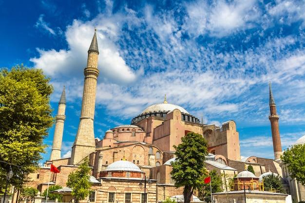 Hagia Sophia W Stambule W Turcji Premium Zdjęcia