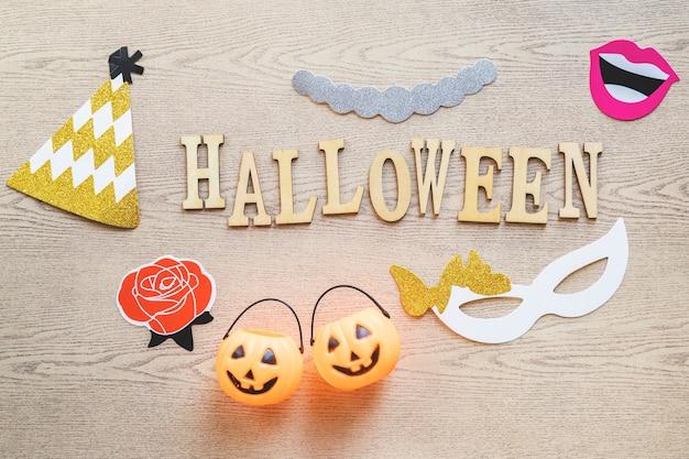 Halloweenowe rzeczy dookoła pisania Darmowe Zdjęcia