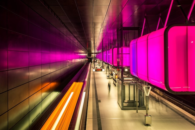 Hamburg Metro Hafencity Premium Zdjęcia
