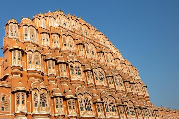 Hawa Mahal Pałac W Jaipur Rajasthan India. Premium Zdjęcia
