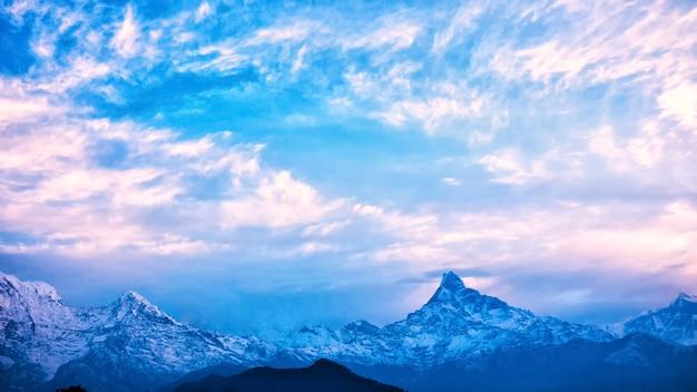 Himalaje, Nepal Premium Zdjęcia