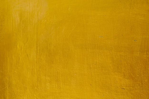 Horyzontalna tekstura złocisty stiuk ściany tło Premium Zdjęcia