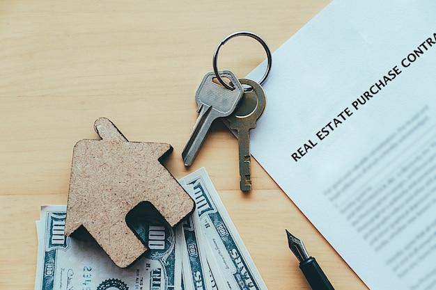 Idea koncepcji zakupu nieruchomości. Darmowe Zdjęcia