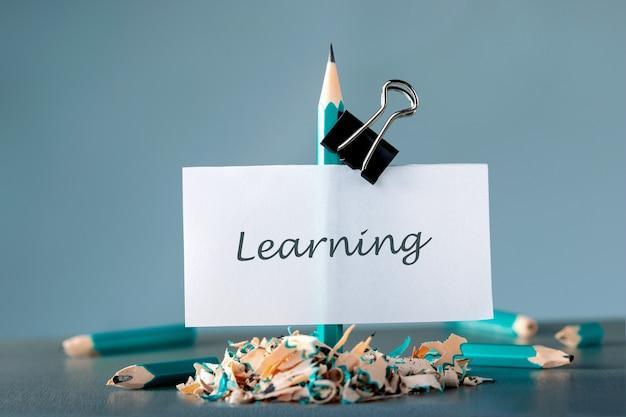 Idź Do Przodu I Osiągaj Cele. Koncepcja Uczenia Się. Premium Zdjęcia