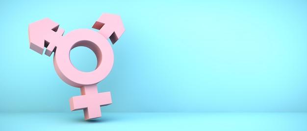 Ikona Transpłciowych Premium Zdjęcia
