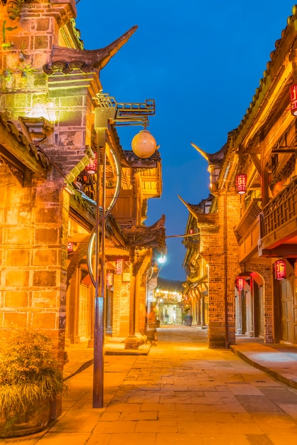 Ikonowe Starożytny Landmark Chiński Prowincji Kraju Darmowe Zdjęcia