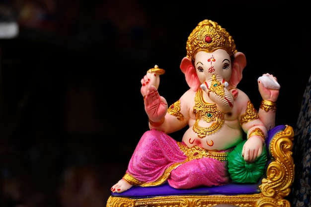 Indian Ganesha Festival, Lord Ganesha Premium Zdjęcia