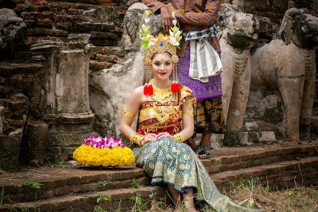 Indonezyjski ślub Premium Zdjęcia