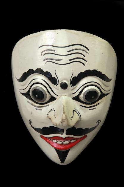 Indonezyjskie Specjalne Maski Są Często Używane, Gdy Są Pokazy Sztuki Premium Zdjęcia