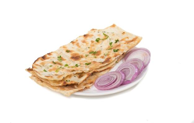 Indyjski chleb naan Premium Zdjęcia