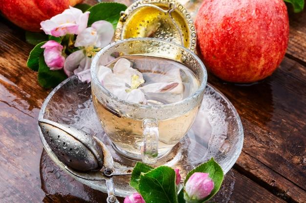 Jabłkowa Herbata Owocowa Premium Zdjęcia