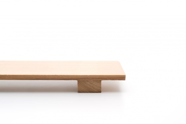 Japoński Drewniany Talerz Sushi Premium Zdjęcia
