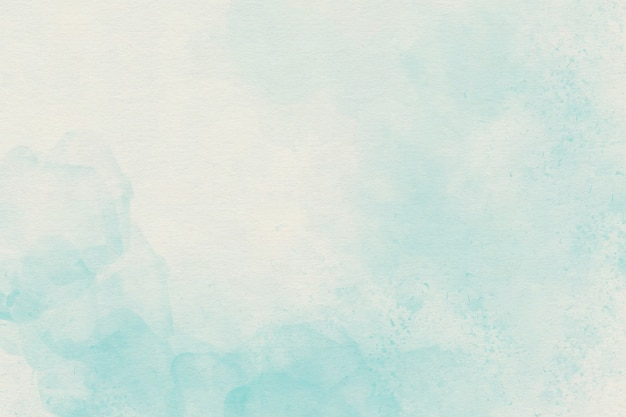Jasnoniebieskie Tło Miękkie Akwarela Premium Zdjęcia