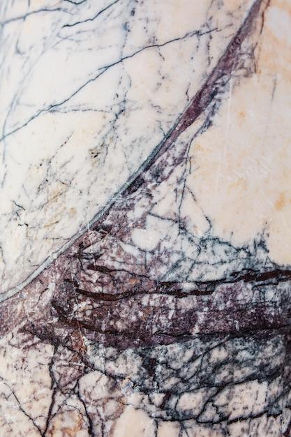 Jasnoszary marmur z niebieską teksturą spękanego kamienia Premium Zdjęcia