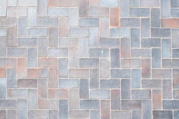 Jasnoszary Tekstury Płytek, Tło Kamienne ściany. Wzór Cegły, Powierzchnia Podłogi. Geometryczny Element Wnętrza. Streszczenie Grunge Tapety. Premium Zdjęcia