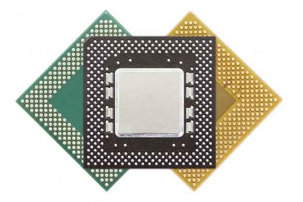 Jednostka centralna lub układ komputerowy Premium Zdjęcia