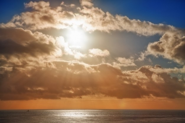 Jersey sunset Darmowe Zdjęcia