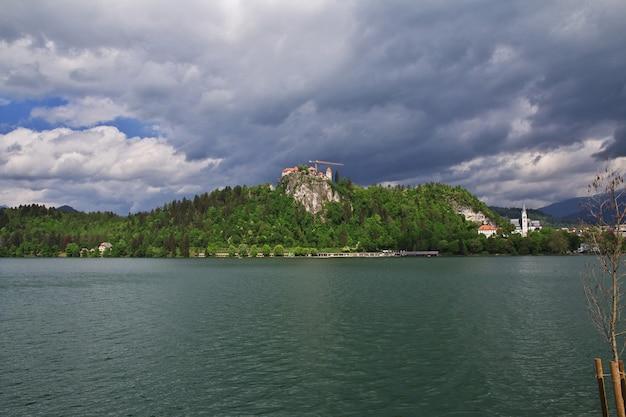 Jezioro Bled W Alpach Słowenii Premium Zdjęcia