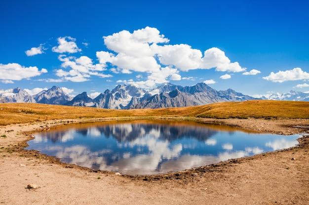 Jezioro Koruldi, Swanetia Premium Zdjęcia
