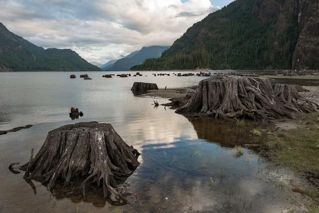 Jezioro W Pobliżu Góry Darmowe Zdjęcia