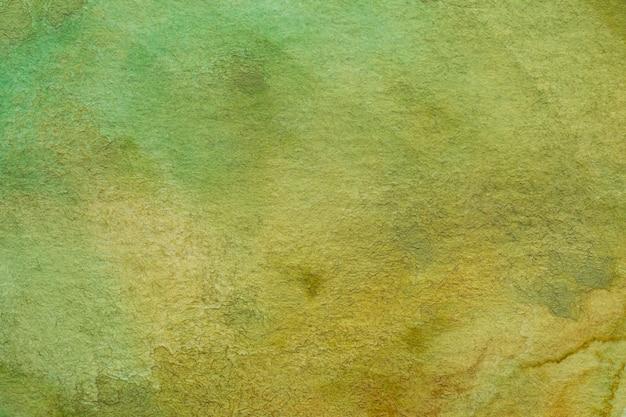 Kaki Abstrakcjonistycznej Akwareli Tekstury Makro- Tło Darmowe Zdjęcia