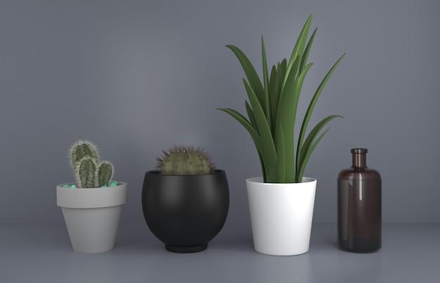 Kaktus Ogrodnictwo Premium Zdjęcia