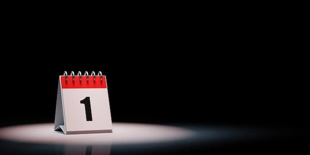Kalendarz W Centrum Uwagi Na Białym Tle Premium Zdjęcia