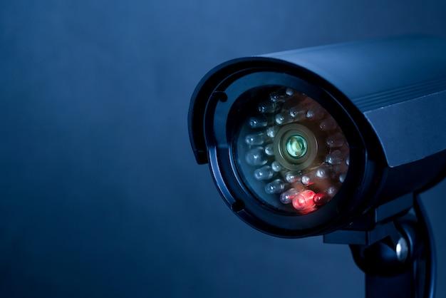 Kamera Internetowa Bezpieczeństwa Cctv Do Wnętrz Premium Zdjęcia