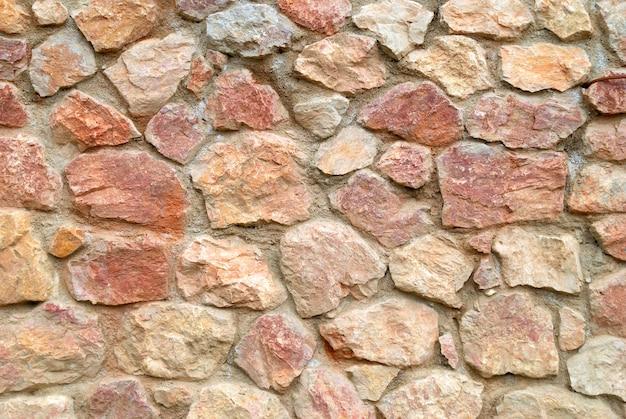 Kamienna ściana Może Służyć Jako Tło Premium Zdjęcia