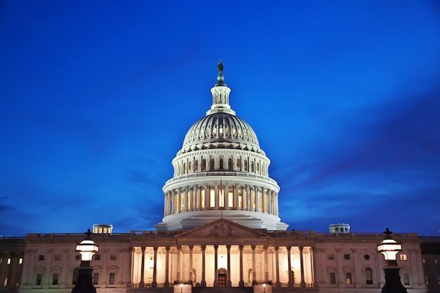 Kapitol W Waszyngtonie, Stany Zjednoczone Premium Zdjęcia