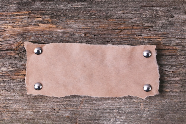 Karton Rama Na Drewnianej Teksturze Darmowe Zdjęcia