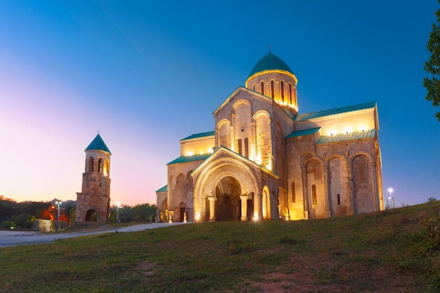 Katedra Bagrati W Kutaisi, Imereti, Gruzja Premium Zdjęcia
