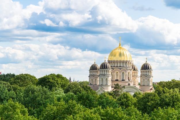 Katedra Narodzenia Pańskiego W Rydze Premium Zdjęcia