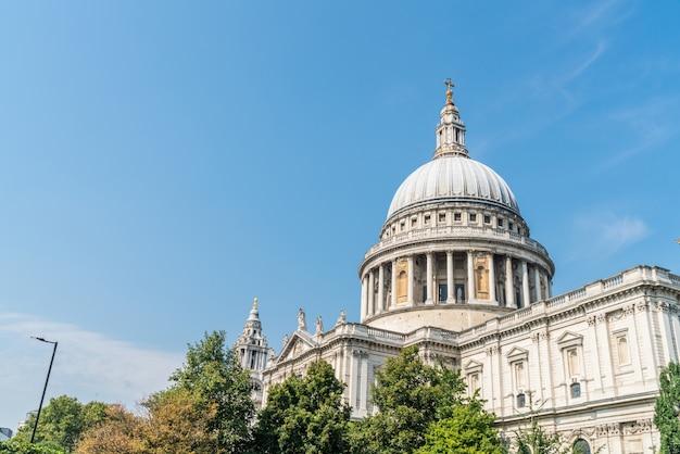 Katedra św. Pawła W Londynie. Premium Zdjęcia