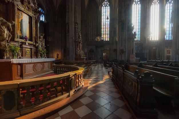Katedra św. stefana w wiedniu Premium Zdjęcia