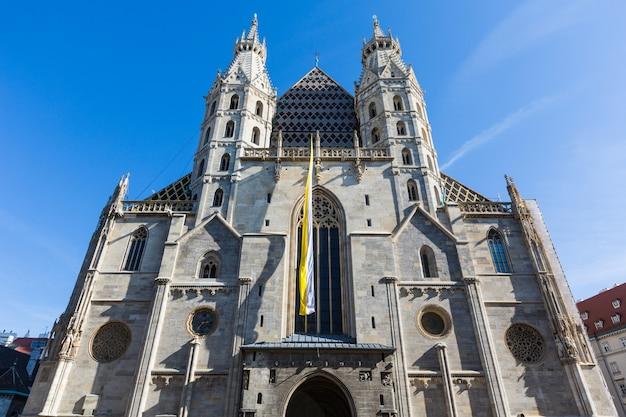 Katedra św. szczepana w wiedniu Premium Zdjęcia