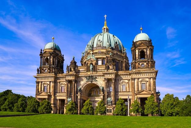 Katedra W Berlinie Berliner Dom Niemcy Premium Zdjęcia