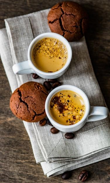 Kawa I Dzień Dobry Koncepcja Premium Zdjęcia