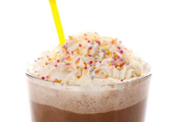Kawa mrożona z bitą śmietaną Darmowe Zdjęcia