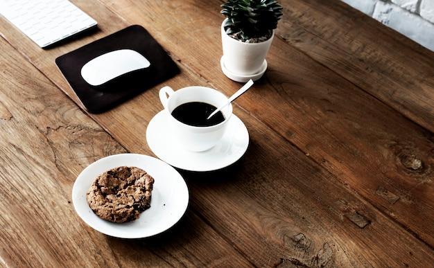 Kawa Stylu Nakreślenia Kawiarni Pomysłów Kreatywnie Główkowania Pojęcie Premium Zdjęcia
