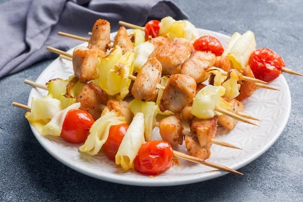 Kebab z kurczaka Premium Zdjęcia
