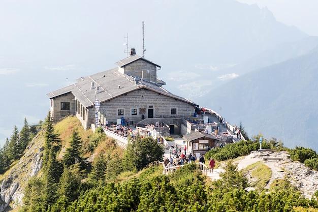 Kehlstein I Eagles Gniazdują W Bawarskich Alpach Premium Zdjęcia