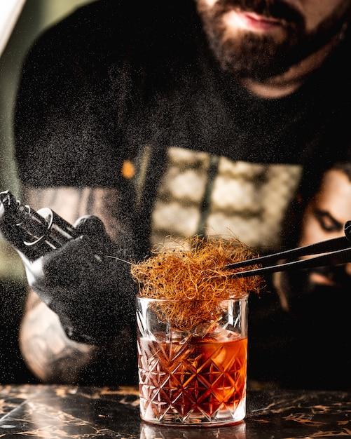 Kieliszek Whisky Z Sianem Darmowe Zdjęcia